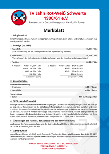 TV-Jahn-Merkblatt